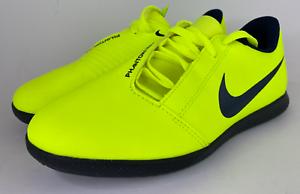 Nike-Phantom-Venom-Club-Ic-Jr-Sz-3-5Y-Volt-Green-Black-AO0399-717-Indoor-Shoes