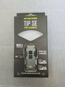 Nitecore TIP SE 2 x OSRAM P8 USB-C Rechargeable LED Key-Light Black