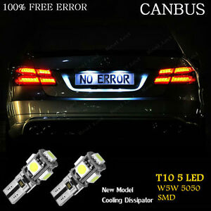 Fits Mercedes C-Class W203 C 30 CDI AMG White 54-SMD LED Side Light Bulbs