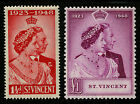 St Vincent 1948 Scott #154-155 Mint Lightly Hinged Set