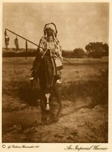 THE-VANISHING-RACE-AN-IMPERIAL-WARRIOR-GENUINE-amp-AUTHENTIC-PHOTOGRAVURE-2