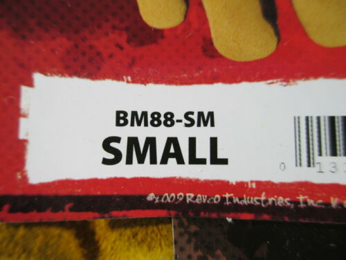 BLACK STALLION BSX PIGSKIN LEATHER WELDING GLOVES NEW BM88-SM SIZE SMALL MIG