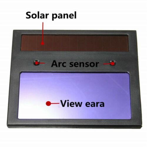 New Type Solar Auto Darkening Welding Lens Helmet Cover Automation Filter Shade