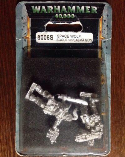 Space Wolf Scouts Plasma Gun Games Workshop Warhammer 40k Marines