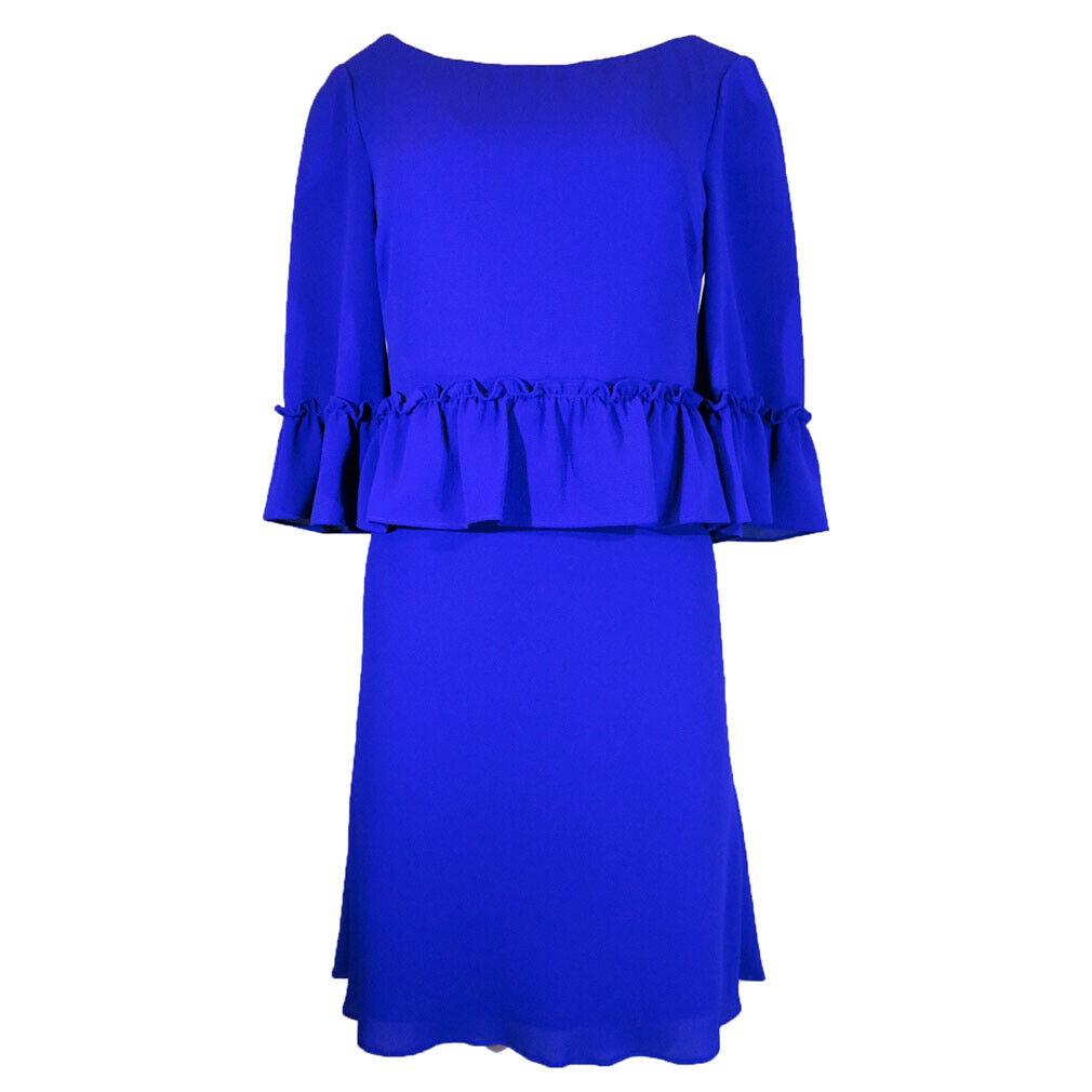 Ralph Lauren Lauren Flutter Sleeve Dress, Größe-6