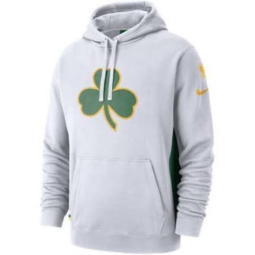 Nike Nba Courtside City Edition Hoodie Boston Celtics White Size 3xl Xxxl Aj2835 For Sale Online
