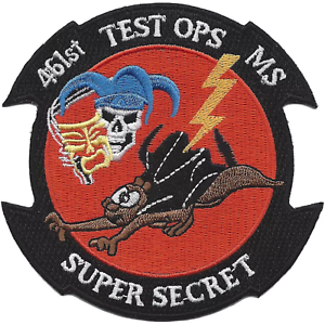 Details about USAF 461st Test Squadron operations