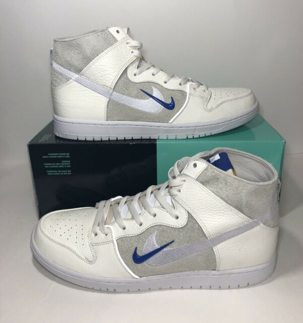 3d26babd0a NIKE SB ZOOM DUNK HIGH PRO QS AH9613 141 SOULLAND FRI DAY Off White Men's Sz