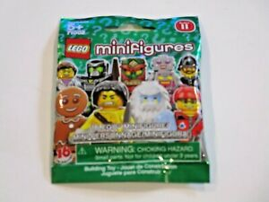 LEGO Minifigures Series #11 71002 Mystery Pack Factory Sealed!