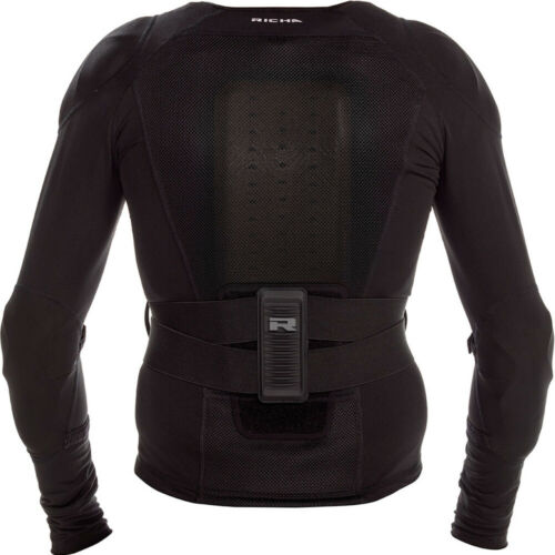 RICHA FORCE D30 ARMOURED MOTORCYCLE MOTORBIKE JACKET//UNDER ARMOUR MESH LAYER