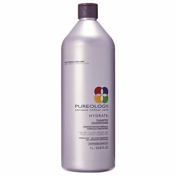 PUREOLOGY Hydrate Shampoo for dry colour treated hair 1000ml