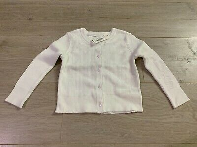 Gymboree Girls Big Long Sleeve Uniform Ribbed Cardigan