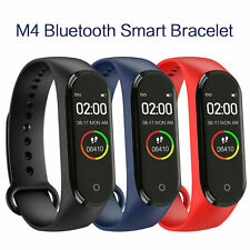 M4 Smart Watch Band Heart Rate Blood Pressure Monitor Fitness Tracker Wristband