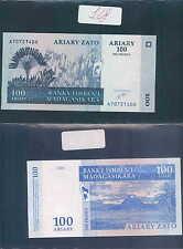 MADAGASCAR 100 ARIARY  500 FRANCS 2004  UNC (rif. 148)