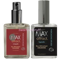 Max Attract Two Fragrances Phermone For Men Sex Attractant Pheromone Cologne