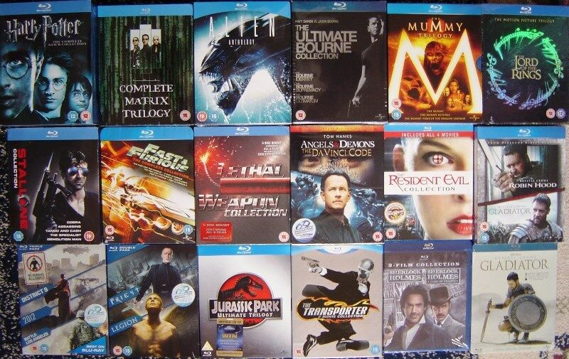 Bluray box sets for sale, all brand new originals either region free or region B.