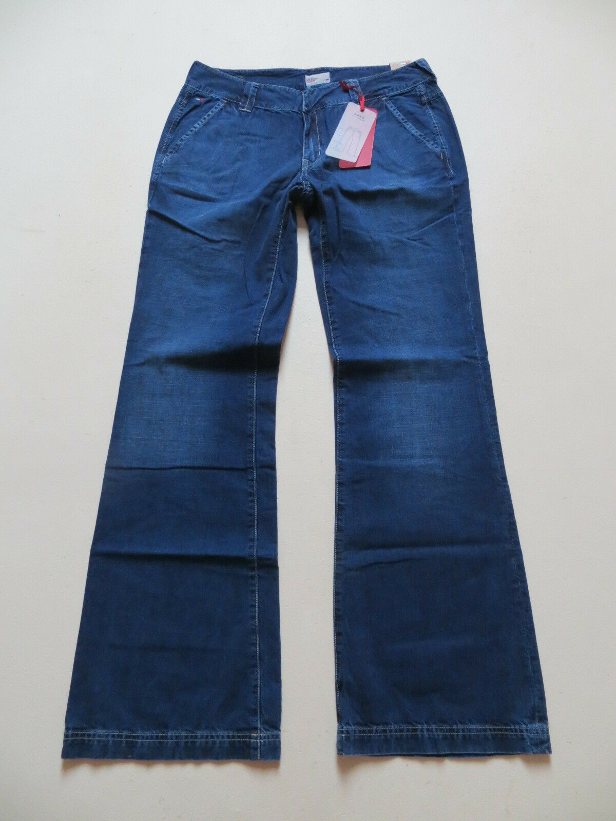 Tommy Hilfiger DARA Jeans Hose W 28  L 32 NEU   Indigo Marlene Summer Denim