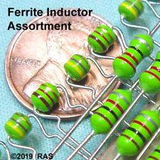 24 Pc Ferrite Inductor Choke Assortment 4 Values X 6 Each
