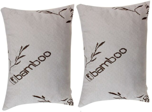 Bamboo Cover Shredded Memory Foam Full Body Pillow,100/% Washable,USA Made New