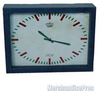 Ihome Design Washed Out Faded Decorative Novelty 12 Wall Clock
