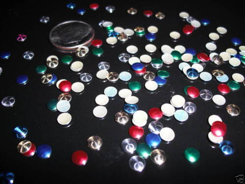 5mm D00159 100-Nailheads MIXED Hotfix Round