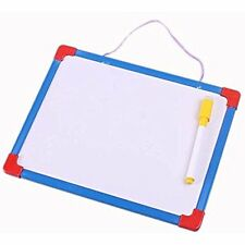 Double Sided Kids Writing Board Erasable Brush Drawing Whiteboard Message Noted