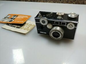 Vintage-ARGUS-C3-Camera-35mm-Film-Rangefinder-w-50mm-f3-5-lens