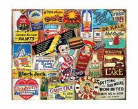 White Mountain Puzzles Vintage Signs Jigsaw Puzzle (1000 Piece) Free Shipping