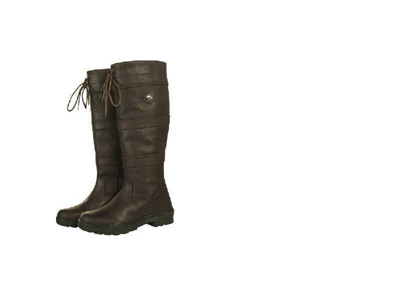 HKM Belmond Reg Wide Oiled Leather Country Horse Riding Yard Boots FREE DELIVERY