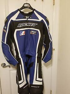 Joe Rocket Blue Racing Suit