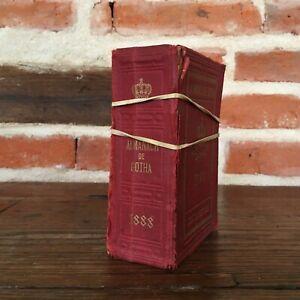 Almanach Di Gotha 1888 Casa Justus Perthes