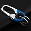 2 Color Keychain Key Ring Hook Outdoor Stainless Steel Buckle Duradero Buckle RK