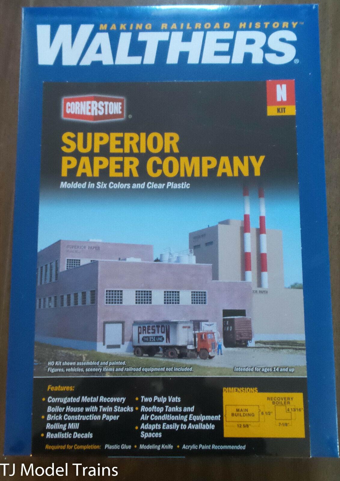 Walthers Cornerstone  3237 súperior Paper Company