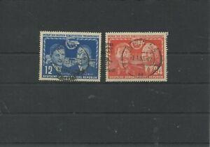 Germany-GDR-vintage-yearset-1951-Mi-296-297-Postmarked-Used-More-Sh-Shop-3