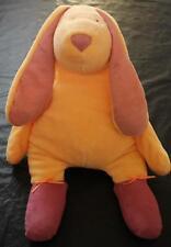 Manhattan Toy Tip Toe Tiptoe Plush Yellow Bunny Rabbit Purple Ballerina Lovey 16