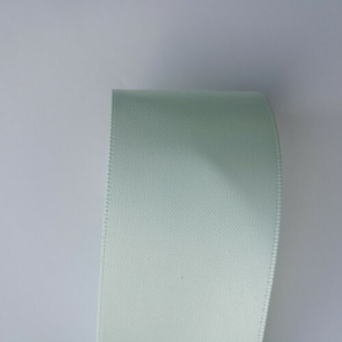 100 Yards UK Seller Double Sided Faced Satin Ribbon 38 mm x 2 10