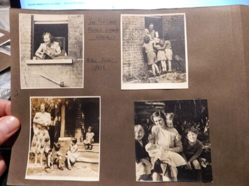 1951 photos super composition The FLETCHER FAMILY LINACRE BROMLEY