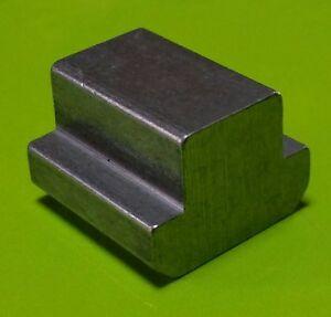 T-Nutenstein DIN 508 M 5 Nutbreite 6 mm brüniert 1 Stück