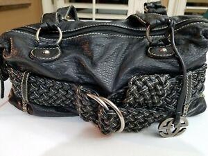 Black Belt Handbag Purse