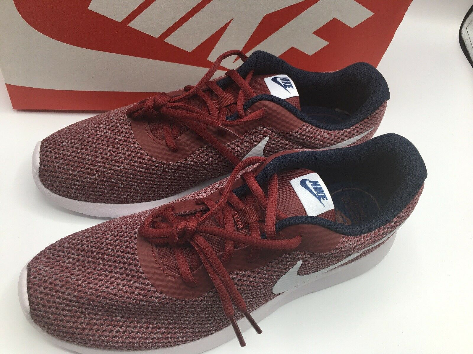 a9bf5990654a ... Nike Nike Nike Tanjun SE Red Grey Obsidian Mens Running shoes Size 11  New in Box ...