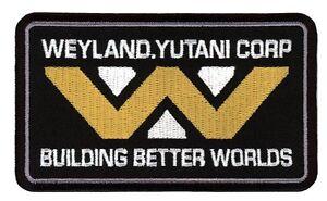 Building Better Worlds Weyland Yutani Alien Crew Cap Shirt Patch Parche Bordado