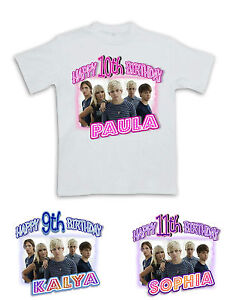 Image Is Loading R5 HAPPY BIRTHDAY T SHIRT 4 Personalized Name