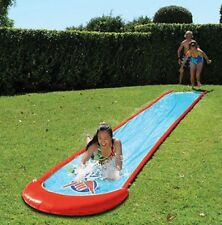 Wahu Super Slide 75m Long Water Spray Play Backyard Slip Splash Pool Fun Kids