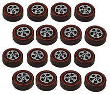 16 Brightvision Redline Wheels – 16 Medium Size Bright Chrome Cap Style Wheels