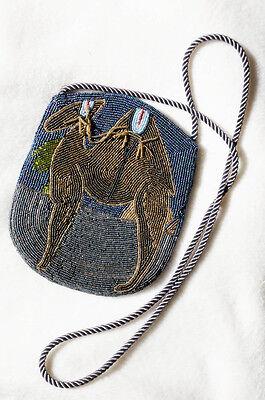 Außergewöhnliche Retro Designer Handtasche Kamel von Ann Green