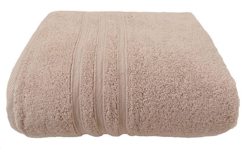10 X Hotel Gastfreundschaft Latte Null Torsion 100% Cotton 600 Gsm Handtücher