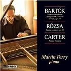 Bartók: Improvisations on Hungarian Peasant Songs; Rósza: Sonate für Klavier; Carter: Piano Sonata (2013)