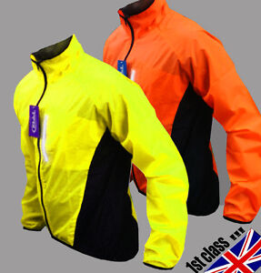 CYCLING-JACKET-HI-VIZ-HIGHLY-VISIBILE-WINDPROOF-WATERPROOF-BREATHABLE-RIDING