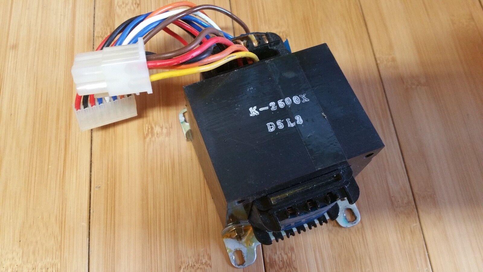 Kurzweil K2500X K 2500 X D5L2 Unit - Power inlet plugs into this