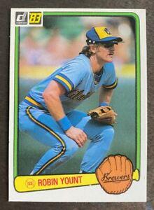 1983-Donruss-Robin-Yount-258-Milwaukee-Brewers-HOF-NM-MT